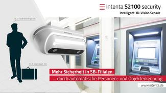 Intenta S2100 Security - 3D Vision Sensor