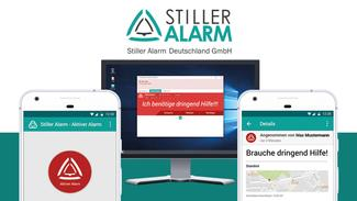 Stiller Alarm mobile App