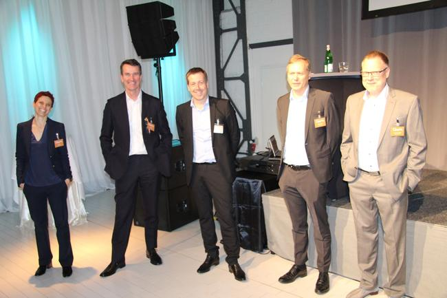 Gili Rom, VP Product, Enterprise Product Management – VMS, CEO Steve Shine, Andreas Beerbaum, Vice President International Sales, Stephan Rasp, Vice President Business Transformation, Carsten Eckstein, Head of Product Management – VMS.